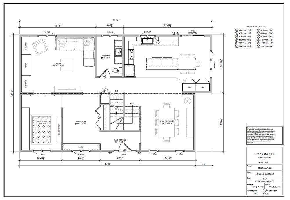 HC Concept - Ajout d'un étage